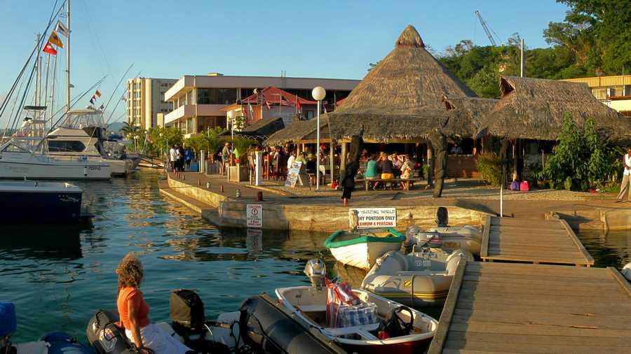The Waterfront Bar And Grill Port Vila Vanuatu